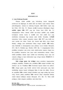 Konsep Pendidikan Anak Secara Islami Studi Literatur Terhadap Pemikiran Al Gazali Dan Abdullah Naṣiḥ Ulwan Upi Repository