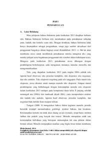 Peningkatan Kemampuan Siswa Kelas X Mia 6 Dalam Memproduksi Teks