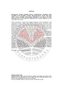 S IPS KDSERANG 1101401 Abstract - Jenis Jenis Hasil Belajar Pdf