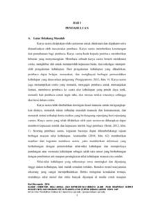 Kajian Struktur Nilai Moral Dan Representasi Budaya Jambi Pada