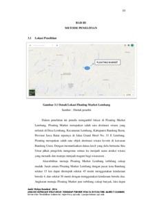 Analisis kepuasan wisatawan terhadap produk wisata di floating preview ccuart Images