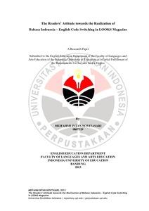 Pdf skripsi indonesia pendidikan bahasa